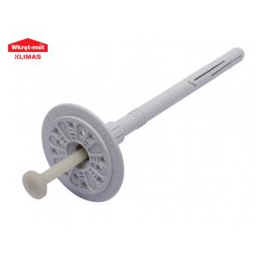 Дюбель для теплоизоляции с пластиковым армированным гвоздем Wkret-met LTX-10070 - интернет-магазин tricolor.com.ua