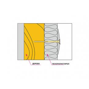 Дожимная манжета с заглушкой для крепления теплоизоляции Wkret-met TD-P060 полипропилен - изображение 3 - интернет-магазин tricolor.com.ua