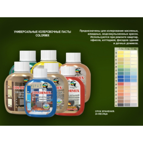 Пигментный концентрат универсальный Спектр Colormix бирюза - изображение 3 - интернет-магазин tricolor.com.ua