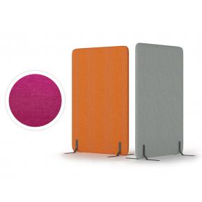 Акустический мобильный экран Openakustik Flo (напольный) 1500x800x40 Dk.Pink 13