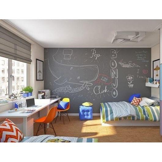 Интерьерная грифельная краска Le Vanille серая - изображение 2 - интернет-магазин tricolor.com.ua