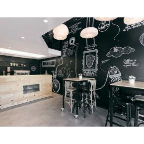 Интерьерная грифельная краска Le Vanille черная - изображение 2 - интернет-магазин tricolor.com.ua
