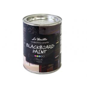 Интерьерная грифельная краска Le Vanille черная