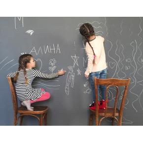 Интерьерная грифельная краска Ideapaint серая - изображение 2 - интернет-магазин tricolor.com.ua