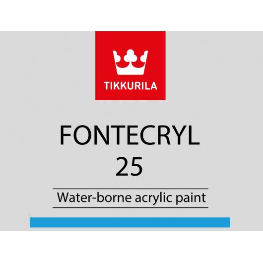 Краска акриловая по металлу Фонтекрил 25 Tikkurila Fontecryl 25 FAL - изображение 2 - интернет-магазин tricolor.com.ua