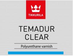 Лак Темадур Клиэ Tikkurila Temadur Clear 2К А без отвердителя - изображение 3 - интернет-магазин tricolor.com.ua