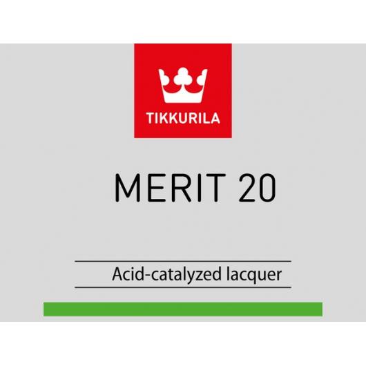 Лак универсальный Мерит 20 Tikkurila Merit 20 - изображение 2 - интернет-магазин tricolor.com.ua