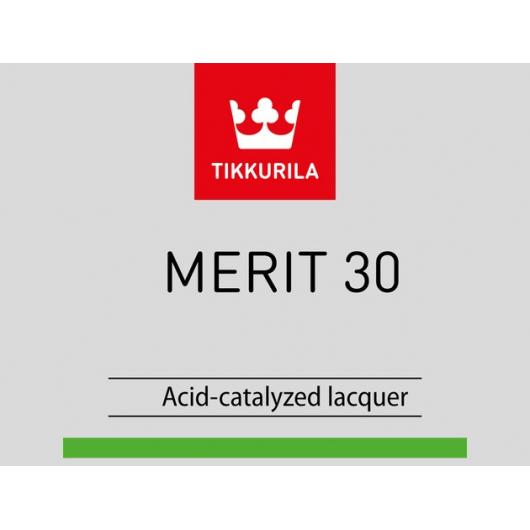 Лак универсальный Мерит 30 Tikkurila Merit 30 - изображение 2 - интернет-магазин tricolor.com.ua