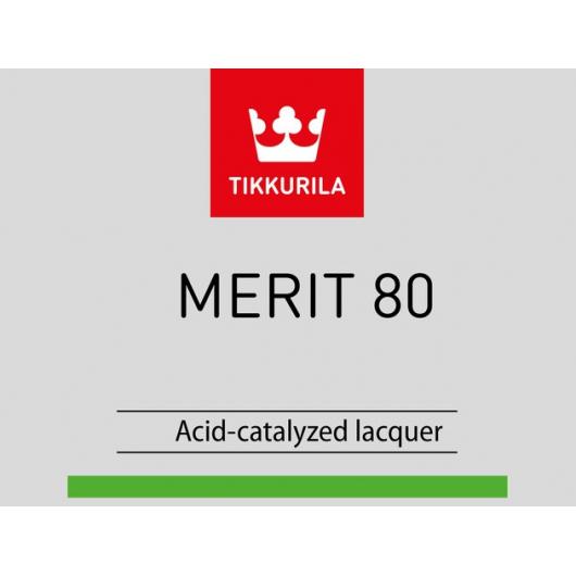 Лак универсальный Мерит 80 Tikkurila Merit 80 - изображение 2 - интернет-магазин tricolor.com.ua