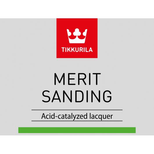 Лак Мерит Сандинг Tikkurila Merit Sanding 2722 - изображение 3 - интернет-магазин tricolor.com.ua