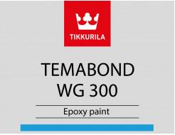 Краска эпоксидная Темабонд ВГ 300 Tikkurila Temabond WG 300 TCH прозрачная - изображение 2 - интернет-магазин tricolor.com.ua