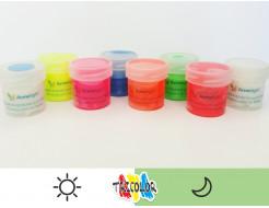 Краска люминесцентная AcmeLight для текстиля белая 20мл - изображение 2 - интернет-магазин tricolor.com.ua