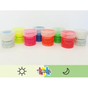 Краска люминесцентная AcmeLight для текстиля классик 20 мл