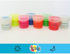 Краска люминесцентная AcmeLight для текстиля синяя 20мл - изображение 2 - интернет-магазин tricolor.com.ua