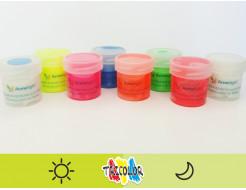 Краска люминесцентная AcmeLight для текстиля желтая 20мл - изображение 2 - интернет-магазин tricolor.com.ua
