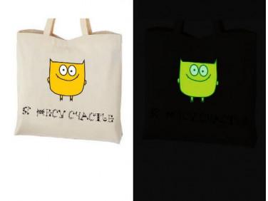 Купить Краска светящаяся AcmeLight для текстиля желтая 20мл