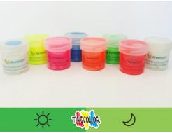 Купить Краска светящаяся AcmeLight для текстиля зеленая 20мл - 4
