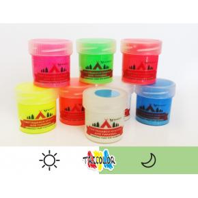Краска люминесцентная AcmeLight для туризма белая 20 мл