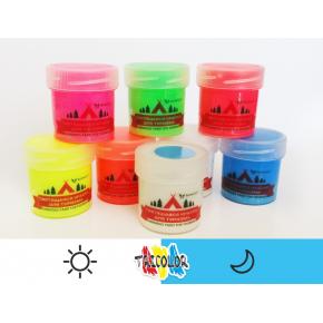 Краска люминесцентная AcmeLight для туризма классик голубая 20 мл