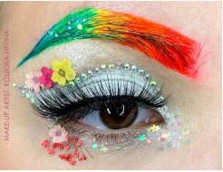 Набор флуоресцентных красок AcmeLight аквагрим для тела 8 шт по 20 мл - изображение 3 - интернет-магазин tricolor.com.ua