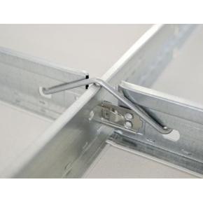 Профиль подвесного потолка AMF Ventatec T15/38/1200 белый - изображение 3 - интернет-магазин tricolor.com.ua