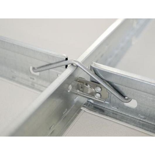 Профиль подвесного потолка AMF Ventatec T24/38/1200 белый - изображение 3 - интернет-магазин tricolor.com.ua