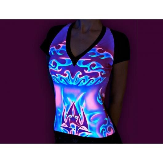 Набор флуоресцентных красок AcmeLight для ткани 8 шт - интернет-магазин tricolor.com.ua