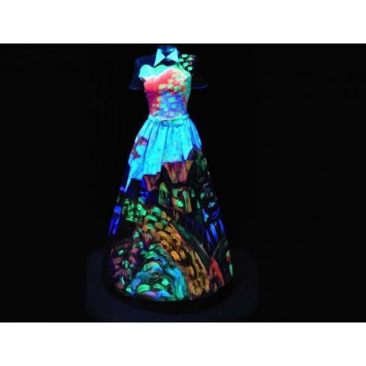 Набор флуоресцентных красок AcmeLight для ткани 8 шт - изображение 2 - интернет-магазин tricolor.com.ua