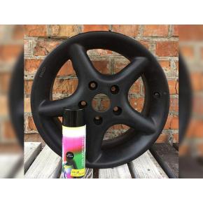 Краска-пленка (жидкая резина) BeLife Spraysticker Standart черная матовая - изображение 2 - интернет-магазин tricolor.com.ua