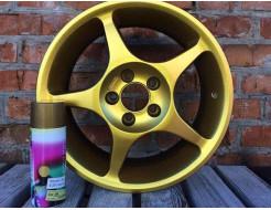 Краска-пленка (жидкая резина) BeLife Spraysticker Metallic золото - изображение 2 - интернет-магазин tricolor.com.ua