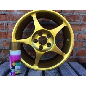 Жидкая резина BeLife Spraysticker Metallic R2599 золото - изображение 2 - интернет-магазин tricolor.com.ua