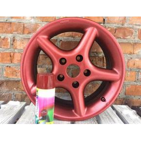 Жидкая резина BeLife Spraysticker Metallic R2600 красная - изображение 2 - интернет-магазин tricolor.com.ua