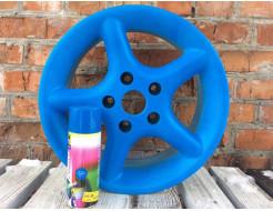 Краска-пленка (жидкая резина) BeLife Spraysticker Fluor голубая - изображение 2 - интернет-магазин tricolor.com.ua