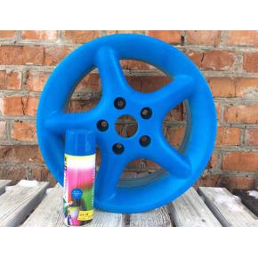 Жидкая резина BeLife Spraysticker Fluor R1004 голубая - изображение 2 - интернет-магазин tricolor.com.ua