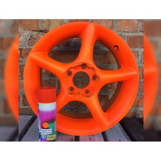 Краска-пленка жидкая резина BeLife Spraysticker Fluor оранжевая - изображение 2 - интернет-магазин tricolor.com.ua