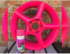 Краска-пленка (жидкая резина) BeLife Spraysticker Fluor фуксия - изображение 2 - интернет-магазин tricolor.com.ua