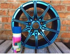 Купить Краска-пленка (жидкая резина) BeLife SPRAYSTICKER CHANGEABLE (хамелеон) морская волна - 6
