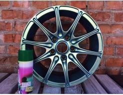 Купить Краска-пленка (жидкая резина) BeLife SPRAYSTICKER CHANGEABLE (хамелеон) оливковая - 5