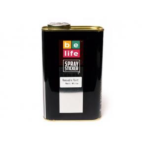 Жидкая резина BeLife Spraysticker Pro PR5 литровая белая матовая (700 г)