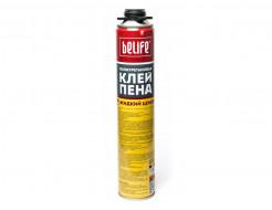 Профессиональная клей-пена (Жидкий цемент) BeLife 850 мл - изображение 2 - интернет-магазин tricolor.com.ua