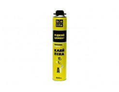 Профессиональная клей-пена (Жидкий цемент) BeLife 850 мл