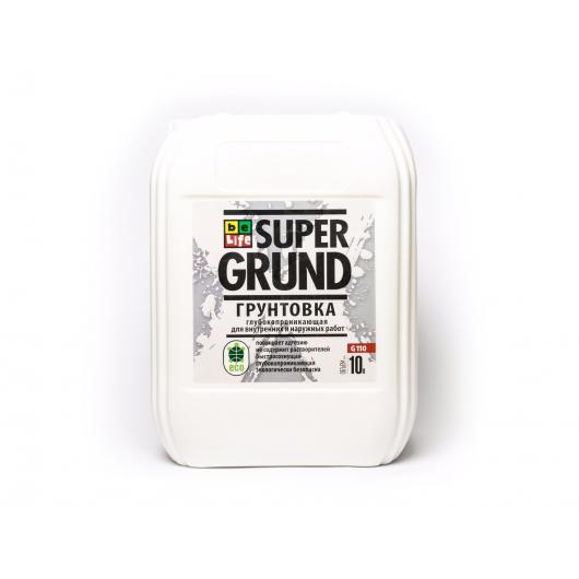 Грунтовка глубокопроникающая BeLife Super Grund - интернет-магазин tricolor.com.ua