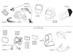 Купить Линза защитная внешняя Speedglas 3M 527001 для 9100 с дополнительной защитой от царапин - 22