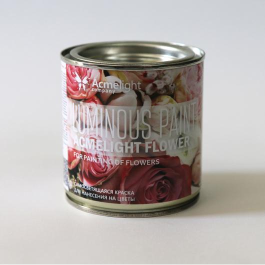 Краска люминесцентная AcmeLight Flower для цветов голубая - интернет-магазин tricolor.com.ua