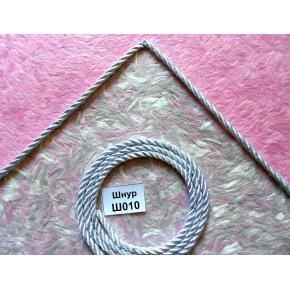 Декоративный шнур Limil № 10 серебристый - изображение 3 - интернет-магазин tricolor.com.ua