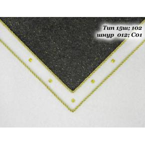 Декоративный шнур Limil № 12 золотой - изображение 3 - интернет-магазин tricolor.com.ua