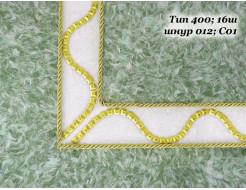 Декоративный шнур Limil № 12 золотой - изображение 4 - интернет-магазин tricolor.com.ua