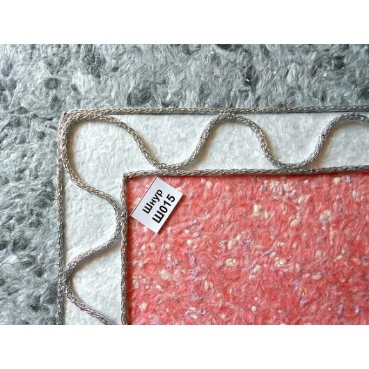 Декоративный шнур Limil № 15 серебристый - изображение 2 - интернет-магазин tricolor.com.ua