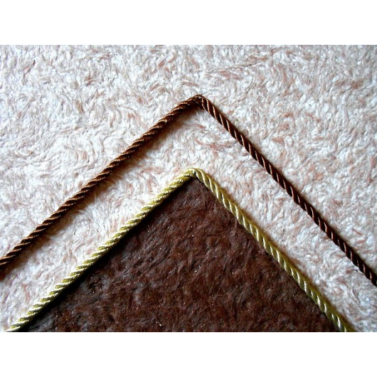 Декоративный шнур Limil № 20 коричневый - изображение 2 - интернет-магазин tricolor.com.ua
