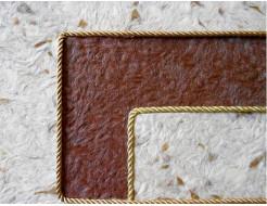 Декоративный шнур Limil № 21 золотой - изображение 2 - интернет-магазин tricolor.com.ua